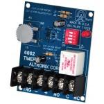 6062 Timer Multifonction 12/24V DC compte à rebours 0 à 60 minutes max.
