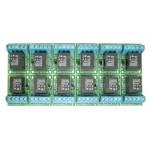 Relais compact et résistant 12VDC  ( 12 modules ) ELK 912