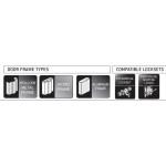 Gâches électriques Universal' Low Profile Gr. 2 CX-ED2079