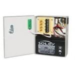 Blocs d'alimentation de 4 canaux de 12 Vcc protégés par CTP avec option de sauvegarde sur batterie