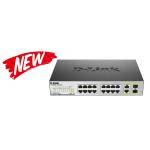 Commutateur D-Link 18 ports 100Mb/s PoE non géré / 246 watts total