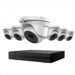 Ensemble Hikvision TurboHD à 8 canaux avec 6 caméras 2MP et disque dur de 2To