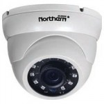 Caméra ogival Northern 1080P 4-en-1 HDCoax, 3.6mm lens