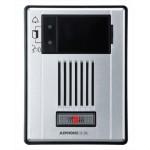 Aiphone poste de porte audio adressable IP à montage en surface et résistant aux intempéries.