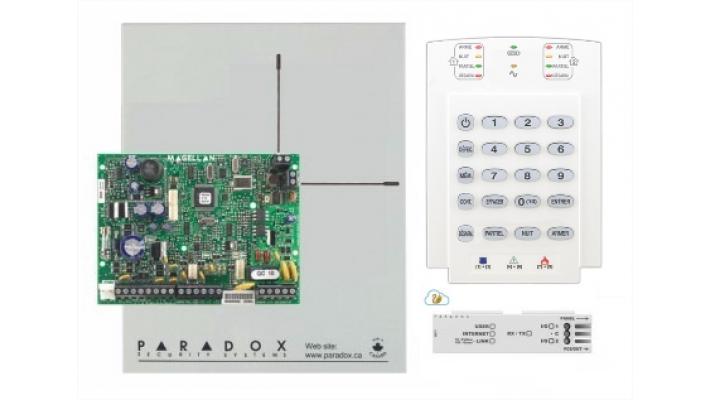 Ensemble Paradox MG5050 avec clavier K10 et module internet IP150 V5