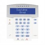 K641LX Clavier Paradox 192 zones LCD pour système EVOHD/EVO192 récepteur intégré 433Mhz