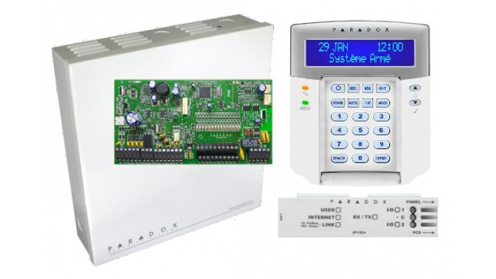 Ensemble SP7000 avec clavier K32LCD+ et IP150 V5 swan