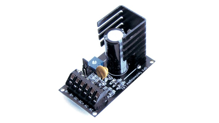Power supply sortie ajustable de 6 à 24 VDC 1A