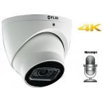 Caméra FLIR 4K MPX à formats multiples HD-Coax / 3.6mm lens / 100ft IR / -30°C / Garantie 3 ans