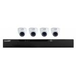 Ensemble HD Northern / 4 canaux / 4 caméras 2MP / HDD 2 TB