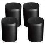 Ensemble de 4 haut-parleur Sonos ONE ( ONEG1US1B ) - ( Livraison gratuite au Canada )