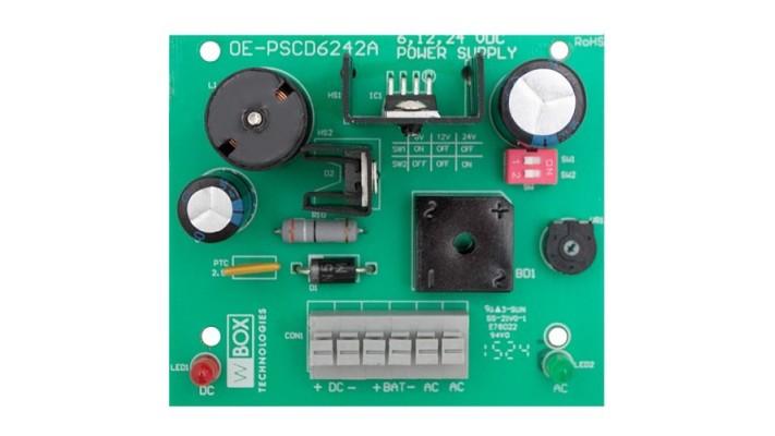 Power Supply sortie sélectionnable 6-12-24VDC de 2.5A