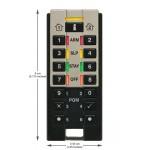 REM3 Télécommande et clavier sans fil bidirectionnel 433Mhz PARADOX