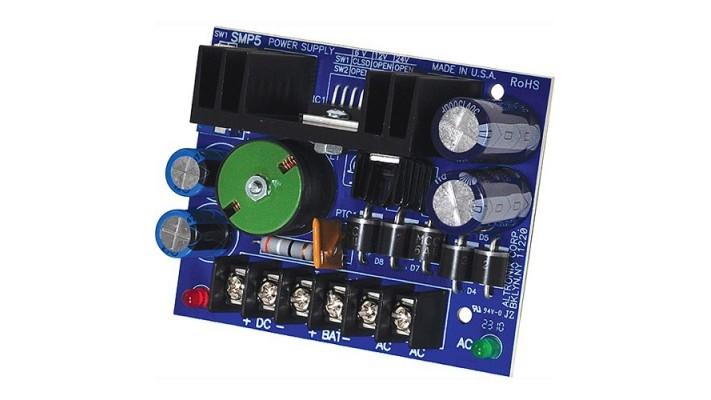 Power Supply sortie sélectionnable 6-12-24VDC de 4A