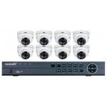 Northern kit 8 caméras 1080p HDCoax avec DVR 8 canaux et disque dur 2To inclus, Garantie 3 ans